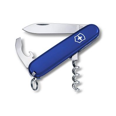 VICTORINOX Taschenmesser Waiter, 9 Funktionen, blau