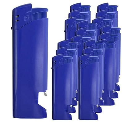 Werbe-Set: 500 Werbefeuerzeuge mit Flaschenöffner, inkl. Druck, blau