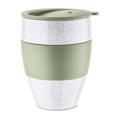 koziol Thermobecher mit Deckel Aroma To Go 2.0, 400 ml, grün