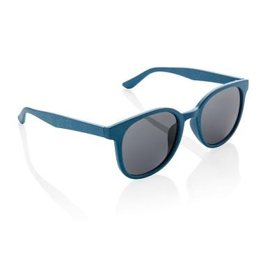 XD COLLECTION Weizenstroh Sonnenbrille ECO, blau