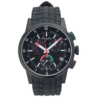 Ferraghini Armbanduhr Centurio, schwarz