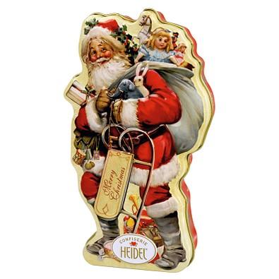 CONFISERIE HEIDEL Nostalgie Weihnachtsmann, gelb/rot