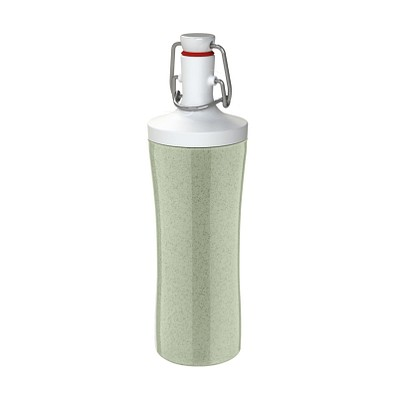 koziol Trinkflasche Plopp to Go, 425 ml, organic green