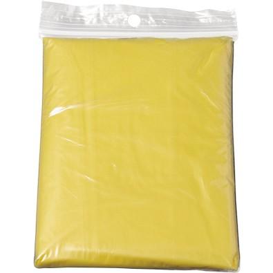 Regen-Poncho, gelb