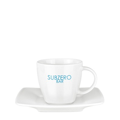 senator® Tasse mit Untertasse Set Maxim Espresso, weiß