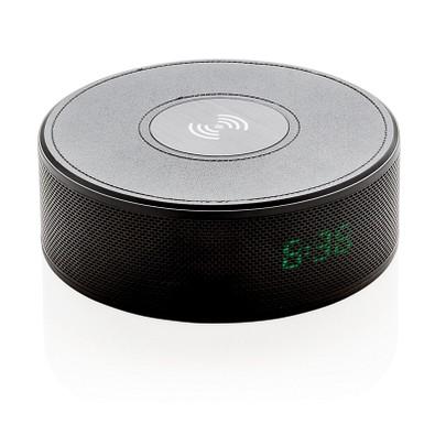 XD COLLECTION Wireless-Charging-Lautsprecher Wake, schwarz